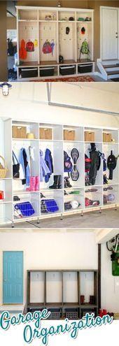 Garage Organization  5 schnelle und günstige Ideen für die Organisation von Ga…