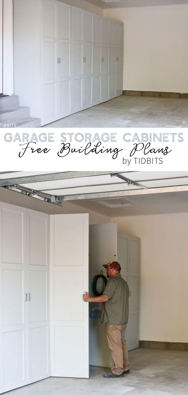 Garage Storage Cabinets | Free Building Plans – Tidbits