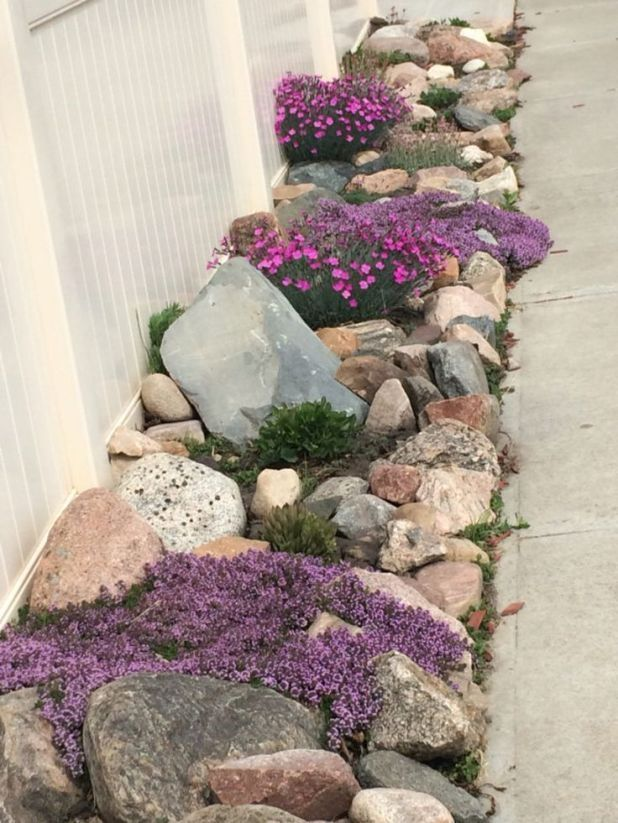 Garden Landscaping Ideas for Front and Backyard #backyard #front #garden #idea… – Home Design Inspiration