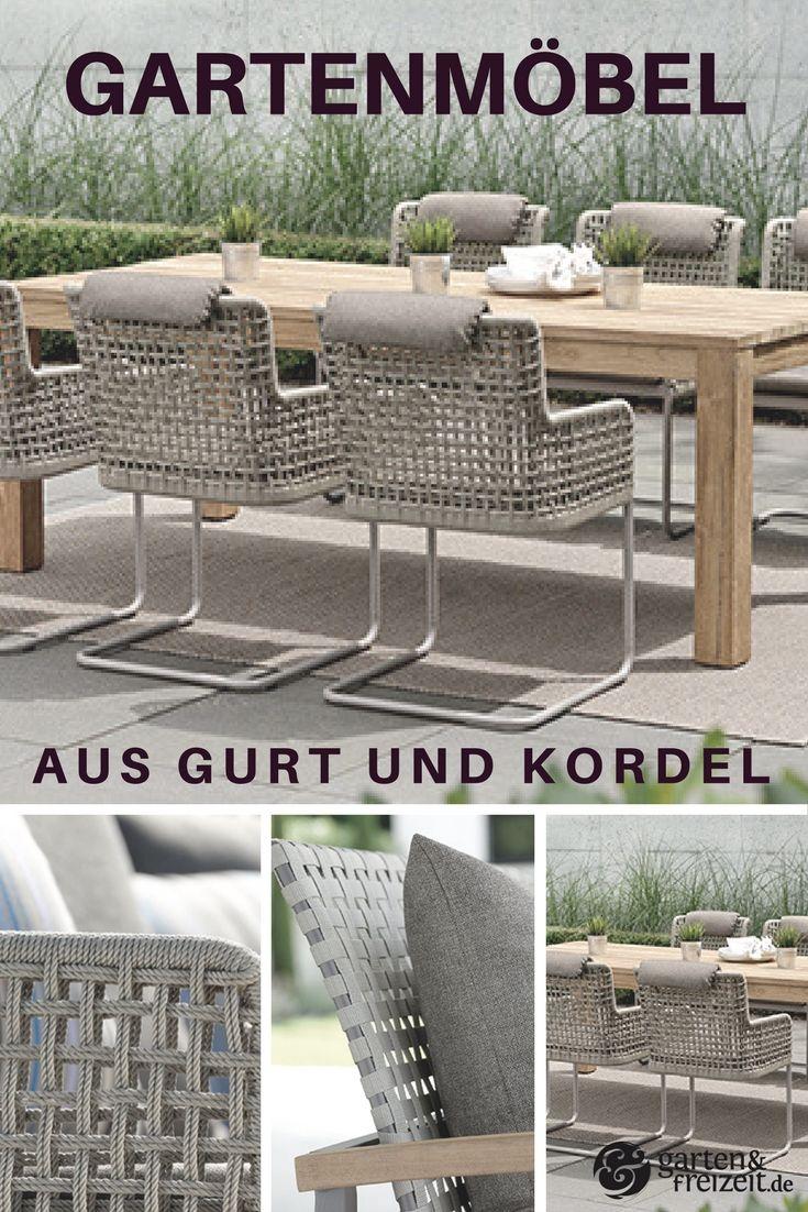Gartenmöbel aus Rope