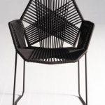 Genial design stuhl schwarz