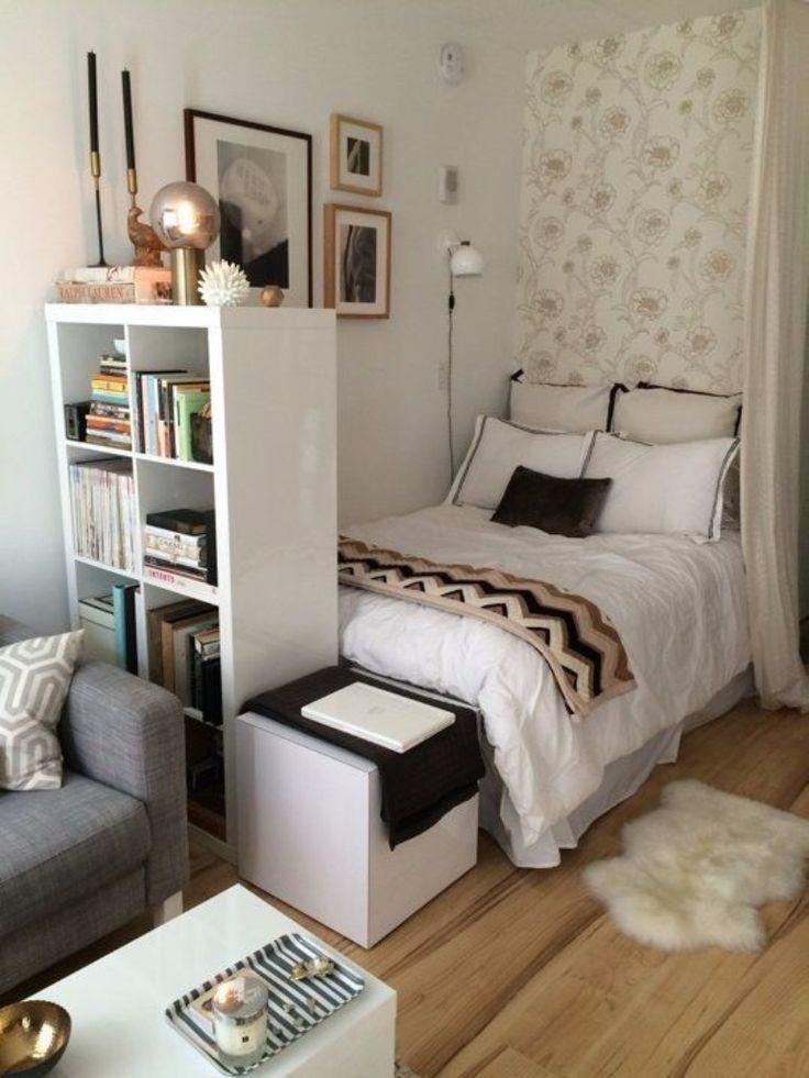 Geniale Inspirationen für kleines Schlafzimmer Design,  #Dekorationwohnzimmermodern #Design #…