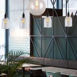 Glass Pendant Lights Dome
