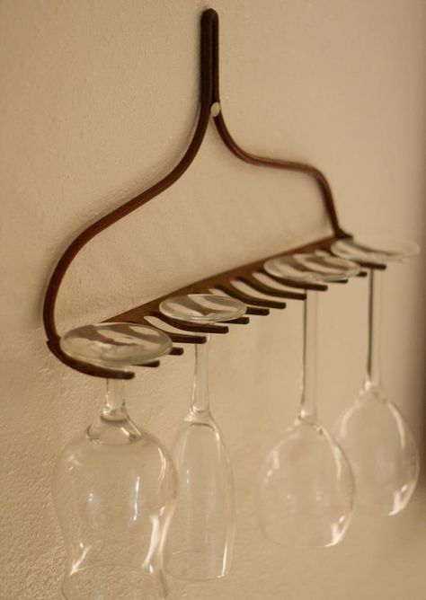 Glass holder for the kitchen. – DIY Crafts