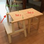 Good Pics Learning tower and children's table in one - an Ikea hack  Ideas   An ...