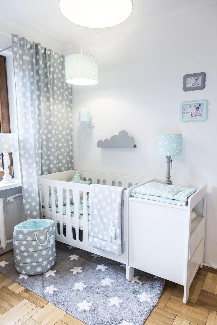 Grau & Mintgrün: perfekte Farbkombination für jedes Babyzimmer. Dieses wunders… – Babyzimmer ideen