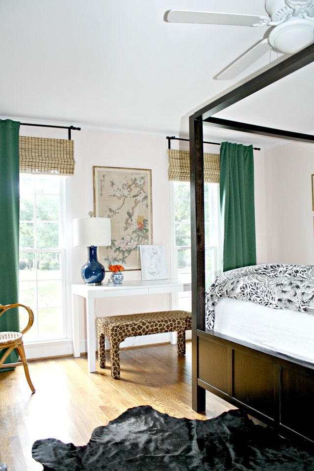 Green IKEA Curtains For Our Bedroom – Emily A. Clark