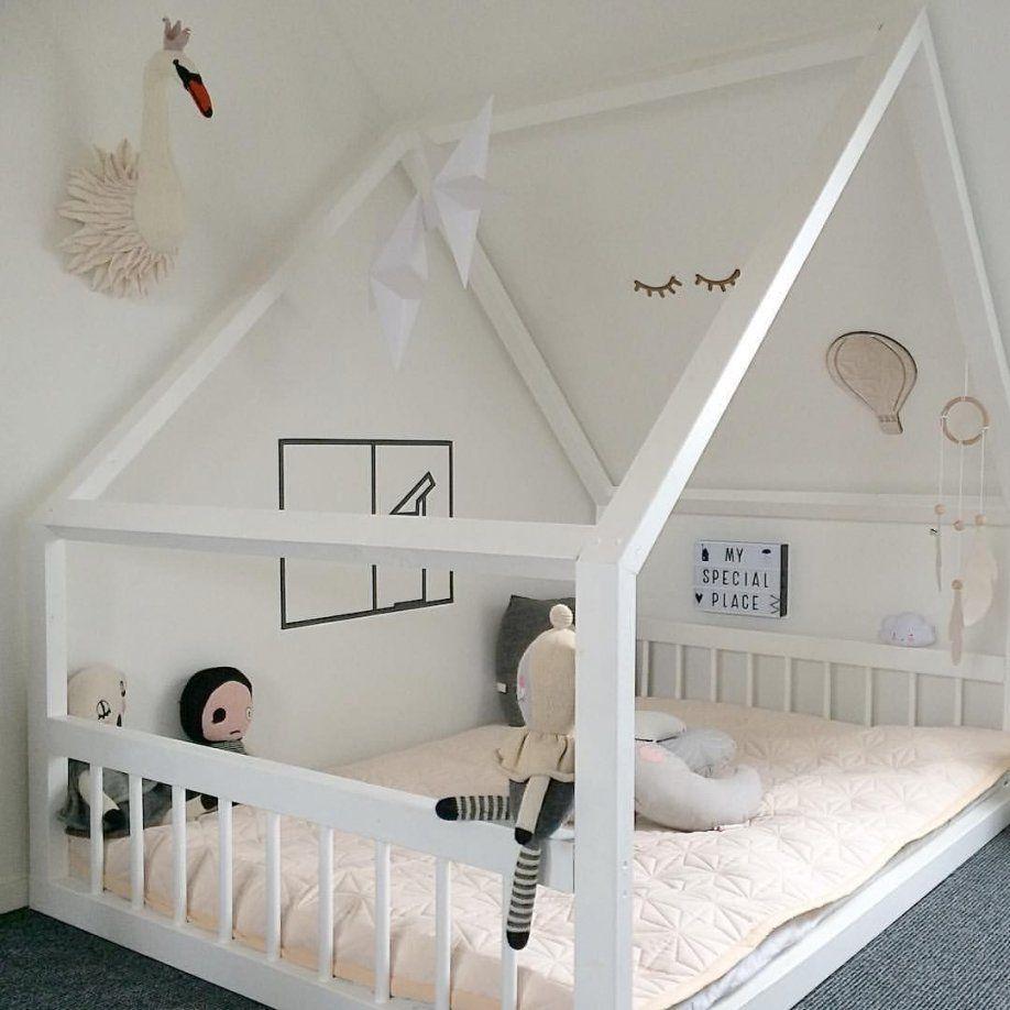 Großes Haus Bett Für Zwei Kinder 3 Diy Pinterest Dachschräge Avec von Kinderb… – https://pickndecor.com/dekor