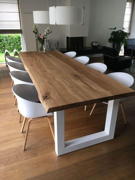 HEAVILA TABLE I INTÉRIEUR SCANDINAVIEN I Un ensemble de luxe en bois de chêne et – Scandinavian & Scandinave