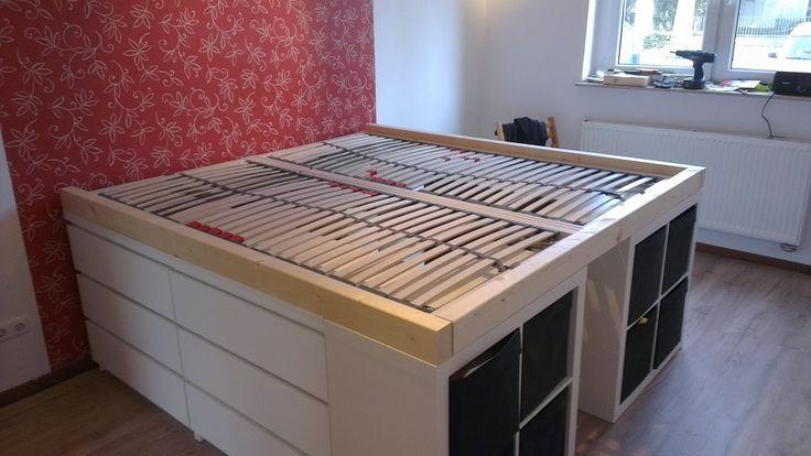 Half a loft bed – IKEA Hackers