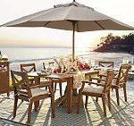 Hampstead Teak Butterfly Extension Tisch & Stuhl Ess-Set, #balkonschirmideen ......