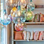 Hand Blown Glass Pendant Lights —   HEATHER BULLARD