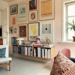 Hanging book shelves