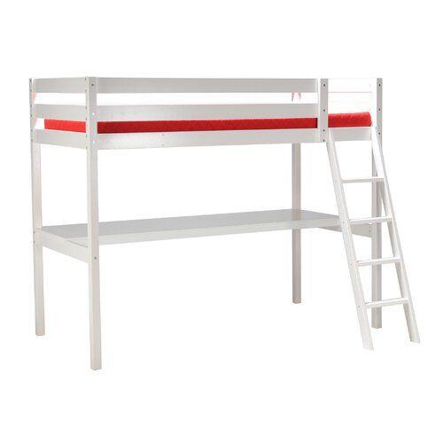 Harriet Bee Ariel Single Loft Bed with Desk | Wayfair.co.uk