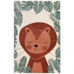 Harriet Bee Caius Polypropylene Brown/Green Indoor Rug | Wayfair.co.uk