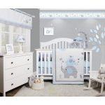 Harriet Bee Penney Elephant Baby Nursery 6 Piece Crib Bedding Set | Wayfair