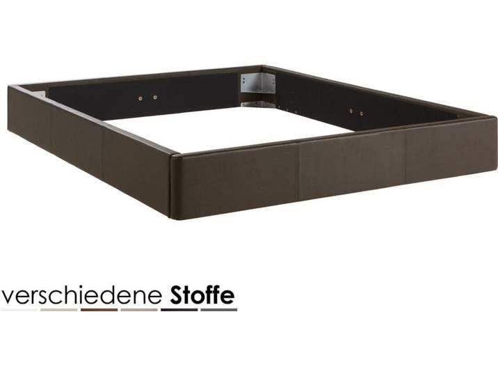 Hasena Dream-Line Bettrahmen Curvino 140×200 cm / PK2 Kunstleder 304 v
