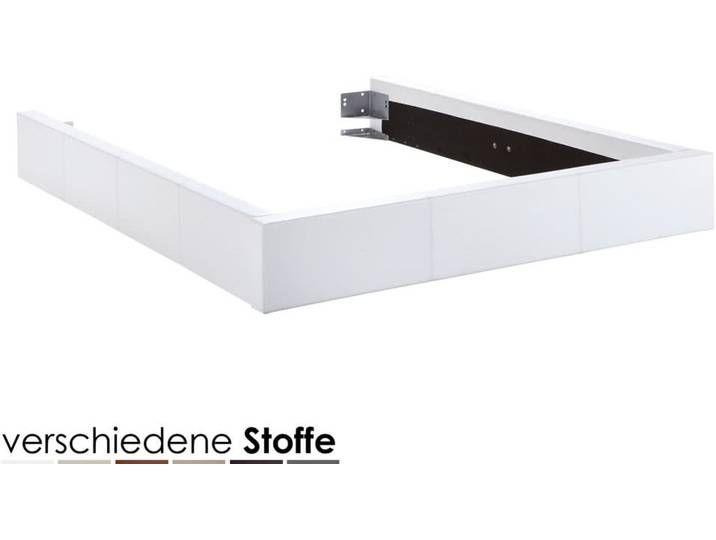 Hasena Dream-Line Bettrahmen Funda 160×200 cm / PK2 Kunstleder 307 cab