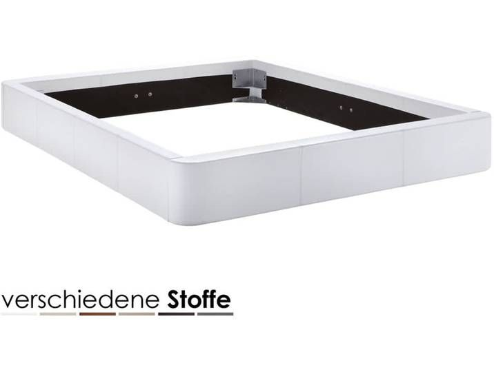 Hasena Dream-Line Bettrahmen Rondino 180×200 cm / PK2 Kunstleder 304 v