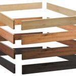 Hasena Oak-Line Massivholz Bettrahmen Eiche 120x210 cm / Eiche graphit
