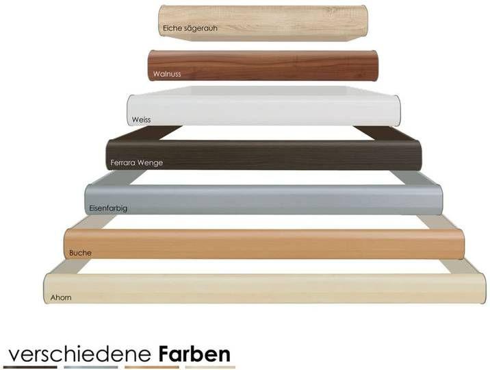 Hasena Soft-Line Bettrahmen Noble 14 120×200 cm Eiche sägerauh