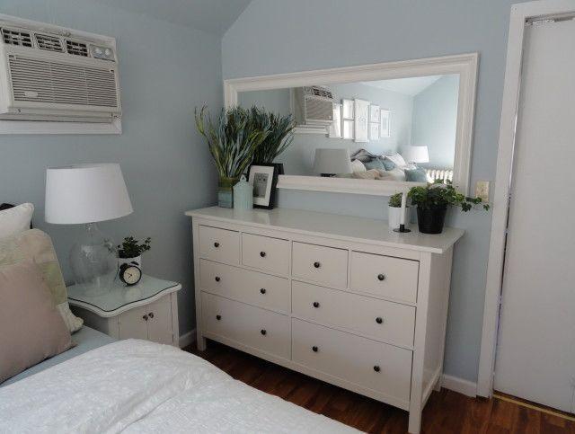Hemnes Kommode und Spiegel – schlafzimmerideen5   Schlafzimmer Ideen