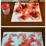 Herbst Basteln für Kinder - Herbstblatt Malen - #Basteln #für #herbst #Herbstb... - Painting Ideas
