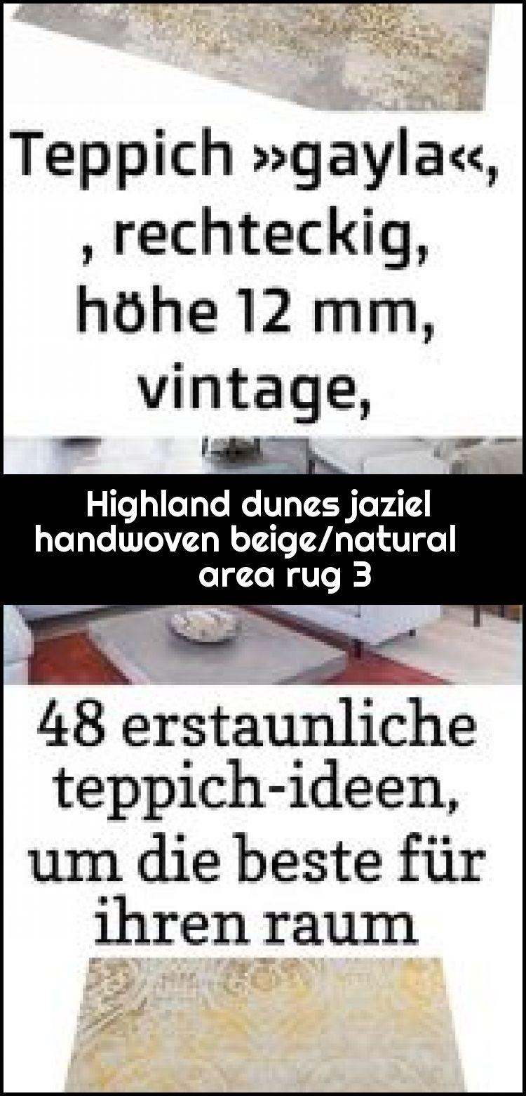 Highland dunes jaziel handwoven beige/natural area rug 3,  #Area #beigenatural #dunes #handwo…