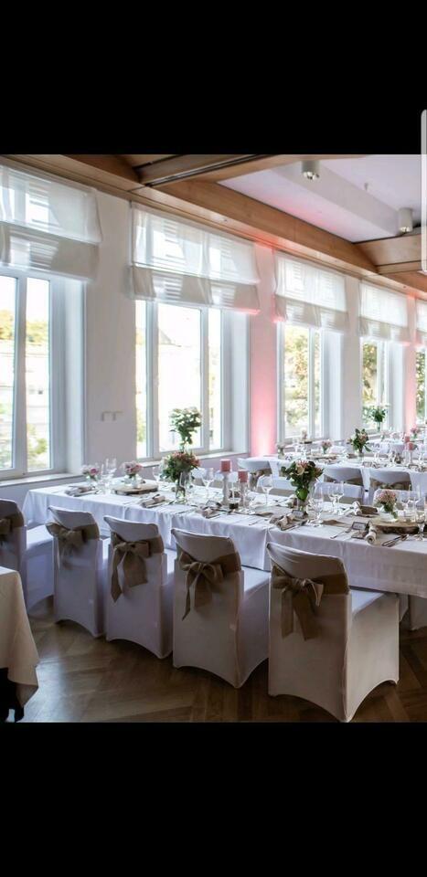 Hochzeit Stuhlhussen Stretch weiß in Nordrhein-Westfalen – Kreuztal | eBay Klei… – myoyun.org/deko