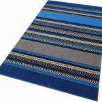 Home Affaire Teppich »Keanu«, 240x320 cm, besonders pflegeleicht, 8 mm Gesamthöhe, blau