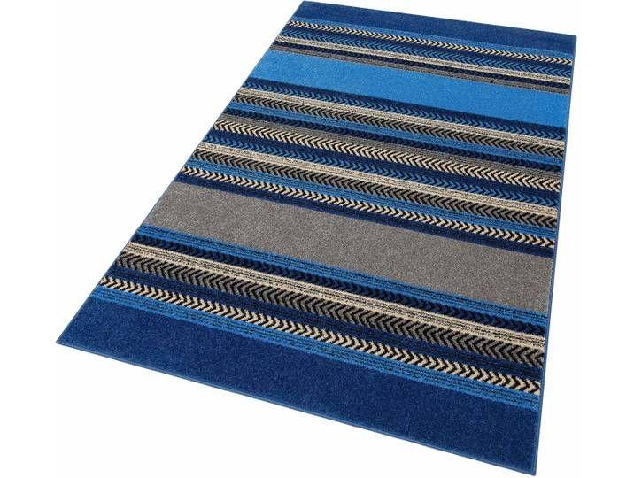 Home Affaire Teppich »Keanu«, 240×320 cm, besonders pflegeleicht, 8 mm Gesamthöhe, blau