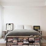 Home Decorating Ideas Bedroom We love this decorating idea: Try putting a small bookshelf bench at the end of ...