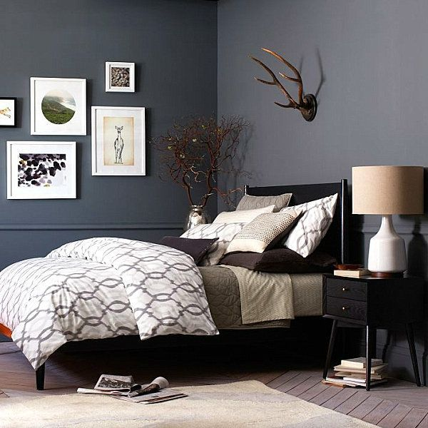 Home Decorating Ideas Bedroom furniture bedroom modern bed black …