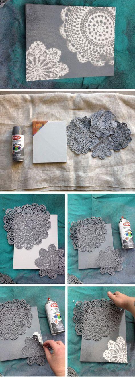 Home Decorating Ideas For Cheap Canvas – Crochet Doilies and Sprinkle Outlook.com – lynbaillie @ hotmai … – Crochet – Tutorials