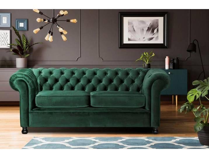 Home affaire 3-Sitzer »Chesterfield Home«, mit edler Knopfheftung und