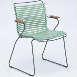 Houe Click Stuhl mit Armlehne dusty light green HoueHoue