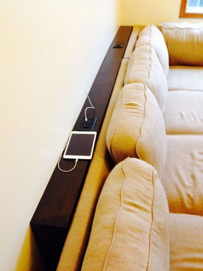 How to Build a Behind Sofa Table