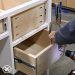 How to Make a Farmhouse Desk with Drawers