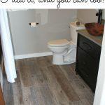 How to Tile a Bathroom Floor with Plank Tiles