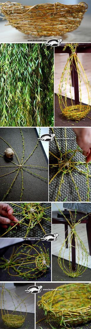 How to Weave a Willow Basket?
