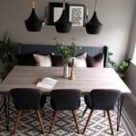 Hudson Gepolsterter Esszimmerstuhl - Olivgrün Sitz Farbe: Olive Seat Cult FurnitureCult Furniture