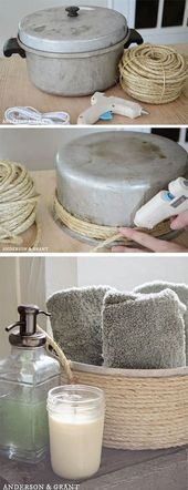 I love this idea for traditional pots. Still usable (…- Ich liebe diese Idee f…