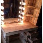 I need this! The most rustic makeup mirror ever!