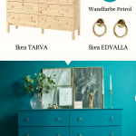 IKEA HACK: Tarva Kommode Makeover - https://bingefashion.com/haus