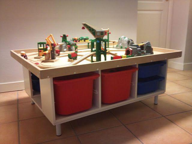 IKEA hacking – Spieltisch mit Stauraum,  #hacking #IKEA #mit #Spieltisch #Stauraum