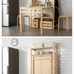 IKEA launches space-saving shelving unit with foldable table | Space Saving Furniture |  Smal...