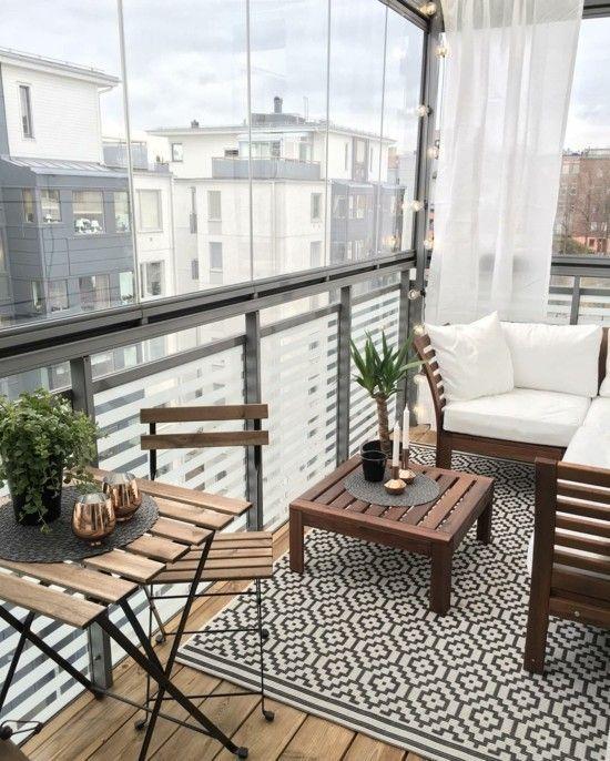 Ideen und Tipps zum kleinen Balkon gestalten #apartmentgardening kleinen balkon …