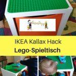 Ikea Hack für Lego Duplo-Spieltisch (Kallax) - Terrorpüppi