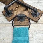 Industrial Modern Rustic Bathroom Set With 3 Baths Of Lightrooom – Wood DIY Ideas - hangiulkeninmali.com/home