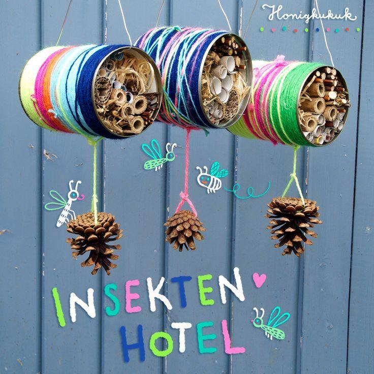 Insektenhotel basteln, Mitmach-Kukuk # 21 – Honigkukuk